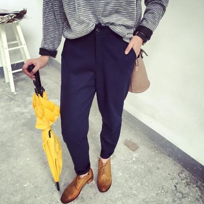 TROUSERS กางเกงขายาวผู้หญิงแฟชั่น กางเกงทรงลำลองผู้หญิง กางเกงสแล็คผู้หญิงเอวสูงแนววินเทจ เกาหลี ญี่ปุ่น แฟชั่น