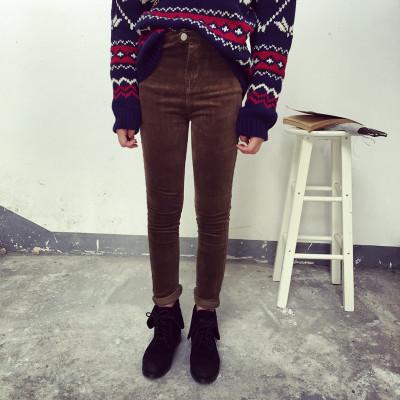 TROUSERS กางเกงขายาวผู้หญิงแฟชั่น กางเกงทรงลำลองผู้หญิง กางเกงเดฟ สกินนี่ผู้หญิงเอวสูงแนววินเทจ เกาหลี ญี่ปุ่น แฟชั่น