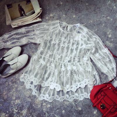 BLOUSE/SHIRT  เสื้อแขนยาวแฟชั่น เสื้อลำลองแฟชั่น เสื้อผ้าผู้หญิงสไตล์วินเทจ เสื้อแขนยาวผู้หญิงแฟชั่น เสื้อตัวสั้นแฟชั่นสไตล์เกาหลี ญี่ปุ่น ฮาราจูกุ