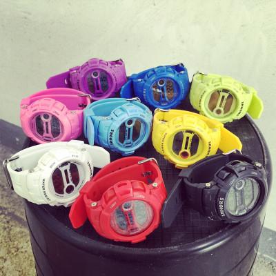 WATCH  CANDY  FASHION  นาฬิกาข้อมือแฟชั่น นาฬิกาดิจิตอลผู้หญิงแฟชั่น สินค้าแฟชั่นสำหรับผู้หญิง สไตล์เกาหลี สไตล์ญี่ปุ่น ฮาราจูกุแฟชั่น