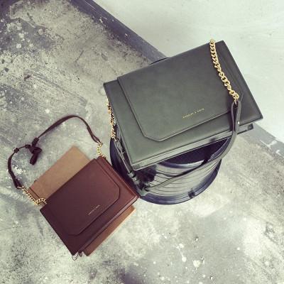 HANDBAG/MESSENGER BAGS  กระเป๋าสะพายไหล่ผู้หญิง รุ่นคลาสสิก กระเป๋าหนังผู้หญิงแฟชั่น กระเป๋าเครื่องสำอางผู้หญิงแฟชั่น กระเป๋ารุ่นคลาสสิกสไตล์วินเทจ แฟชั่นเกาหลี ญี่ปุ่น