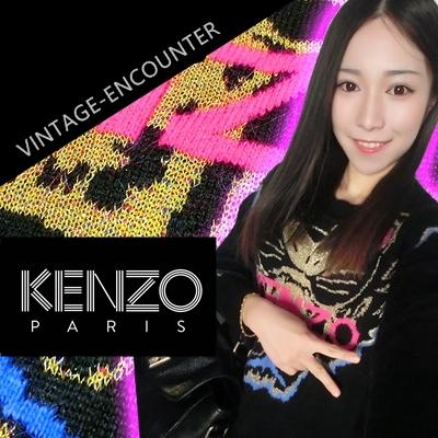 KNITWEAR/SWEATER  K*E*N*Z*O  TIGER  เสื้อไหมพรมผู้หญิงแฟชั่น เสื้อสเวตเตอร์ เสื้อถักผู้หญิง เสื้อผ้าแฟชั่นผู้หญิง แฟชั่นเกาหลี ญี่ปุ่น สไตล์ Kawai อาราจูกุ สินค้าแบรนด์แท้จาก shop counter