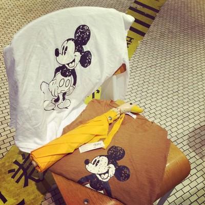 เสื้อ T-SHIRT  เสื้อยืดผู้หญิง เสื้อลายมิกกี้เมาส์ เสื้อผ้าเกาหลี ญี่ปุ่นแฟชั่น เสื้อแขนยาวพิมพ์ลาย mickey mouse ผ้าคอตตอน สวมใส่สบาย