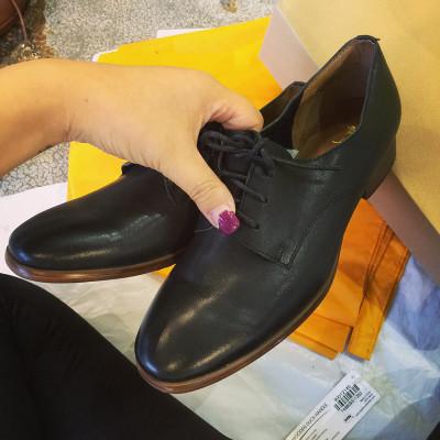 SHOES รองเท้าหนังวินเทจคัทชูผู้หญิงแฟชั่น รองเท้าหนัง รองเท้าส้นสูงผู้หญิงแฟชั่น เกาหลี ญี่ปุ่น