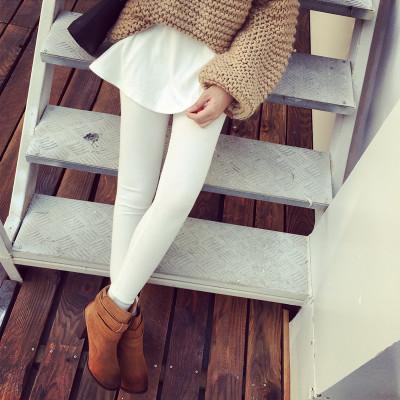 TROUSERS / LEGGING กางเกงกระโปรงผู้หญิงแฟชั่น กางเกงเลกกิ้ง+กระโปรงแฟชั่น เกาหลี ญี่ปุ่น กางเกงกันหนาวผ้าคอตตอนแฟชั่น คอลเลคชั่น ออทั่ม วินเทอร์