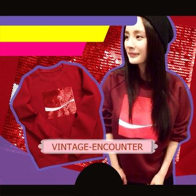 [BRAND] CREW NECK  /  SWEATSHIRT  เสื้อสเวตเตอร์ เสื้อสเวตเชิ้ต เสื้อกันหนาวแขนยาวผู้หญิง เสื้อแขนยาวผู้หญิงแฟชั่น คอลเลคชั่น ออทั่ม วินเทอร์ สไตล์เกาหลี/ญี่ปุ่น