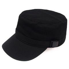 หมวก Hiphop ราคาถูก หมวก เกาหลี มี สีดำ (ปรับได้)