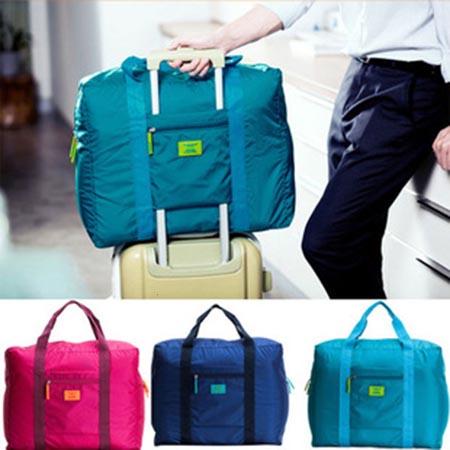 กระเป๋าเสริมเดินทางแบบคล้องติดกระเป๋าเดินทางได้ด้วย กระเป๋าเดินทางสามารถกันน้ำได้