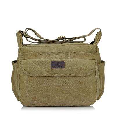 กระเป๋าผู้ชาย ราคาถูก กระเป๋าสะพายข้าง มี สีน้ำตาล สีกากี สีดำ