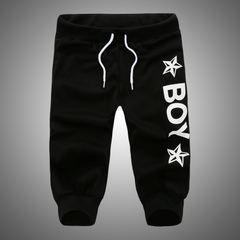 กางเกงผู้ชาย ผู้หญิง ราคาถูก กางเกงลำลอง มี สีดำ มี ไซร์ S M L XL XXL