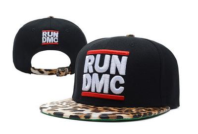 หมวก ราคาถูก หมวกเบสบอล Hiphop RUN DMC Snapback (ปรับได้)