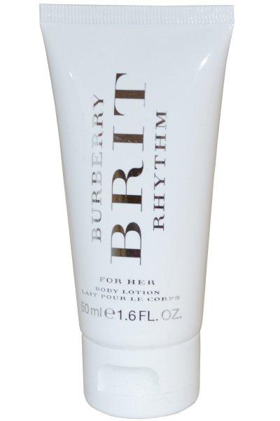 Burberry Brit Rhythm for Her Body Lotion 50 ml. โลชั่นบำรุงผิว มอยเจอร์ไรเซอร์ช่วยให้ผิวชุ่มชื่น เนียนนุ่มเรียบลื่นน่าสัมผัส ทั้งยังให้กลิ่นหอมติดทนนาน เหมือนได้ฉีดน้ำหอมเลยคะ โลชั่นกลิ่นเดียวกับน้ำหอม Brit Rhythm For Her ด้วยส่วนผสมของ ดอกไม้