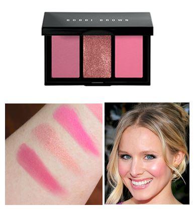 Bobbi Brown Pink Lily Cheek Palette ปัดแก้ม 3 เฉดสีในหนึ่งเดียว ให้สีชมพูอมม่วงทั้งโทนธรรมชาติ, โทนสดใส และโทนสุกสว่างสำหรับไฮไลท์ สร้างสรรค์ลุ้คสุดเก๋และสดใส พร้อมเพิ่มความเปล่งประกายให้กับคุณในทุกๆโอกาส เหมาะกับสาวที่มีผิวขาวจนถึงผิวสีปานกลาง