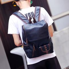 กระเป๋าผู้ชาย ผู้หญิง ราคาถูก กระเป๋าสะพายหลัง เป้ เท่ๆ มี สีดำ สีน้ำเงิน