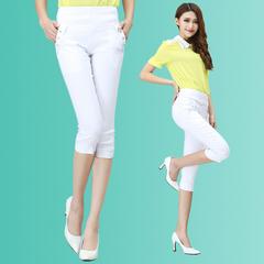เสื้อผ้าผู้หญิง ราคาถูก กางเกงแฟชั่น กางเกงลำลอง เท่ๆ มี สีขาว สีดำ สีน้ำเงิน สีฟ้า สีกากี มี ไซร์ 26-31