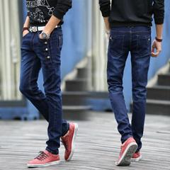 กางเกงผู้ชาย ราคาถูก กางเกงยีนส์ มี สีดำ สีฟ้า สีเทา มี ไซร์ 27-36