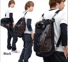 กระเป๋าผู้ชาย ผู้หญิง ราคาถูก กระเป๋าสะพายข้าง ถือ เท่ๆ มี สีน้ำตาล สีดำ สีอูฐ
