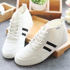 รองเท้าผู้หญิง ราคาถูก รองเท้าผ้าใบ น่ารัก มี สีขาว สีดำ สีแดง สียีนส์ดำ สียีนส์ฟ้า สียีนส์น้ำเงิน (สูง) มี เบอร์ 35-40
