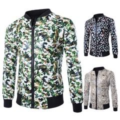 เสื้อผ้าผู้ชาย ราคาถูก เสื้อแจ็กเก็ต เท่ๆ  มี สีเสือดาว สีกะโหลกศีรษะ สีการปลอมตัว  มี ไซร์ M L XL XXL