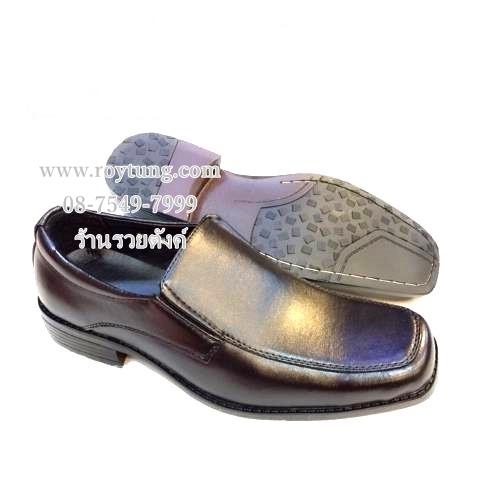 รองเท้าคัชชูผู้ชายสีดำ รองเท้าทำงานผู้ชาย ขายส่ง (290/คู่)