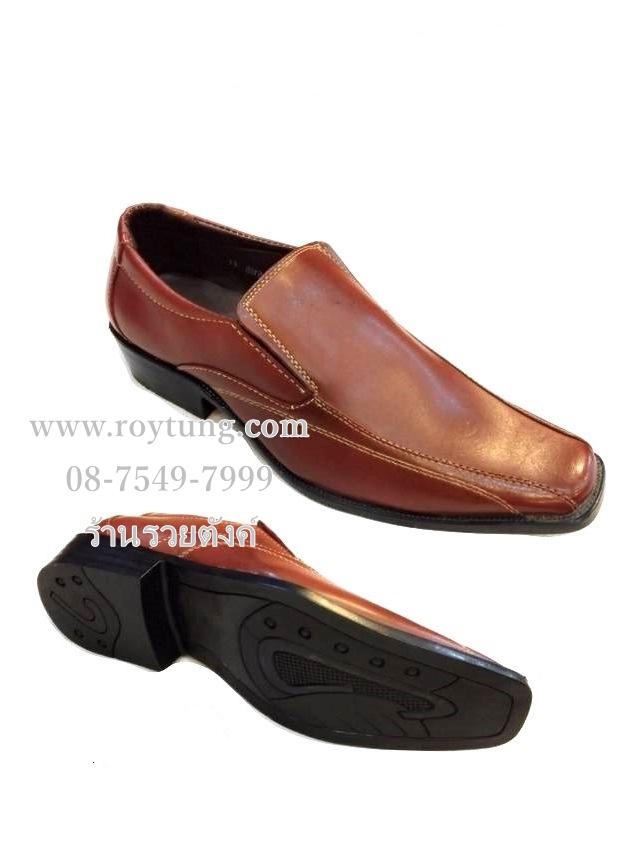 รองเท้าคัชชูผู้ชายสีน้ำตาล รองเท้าทำงานผู้ชาย ขายส่ง (290/คู่)
