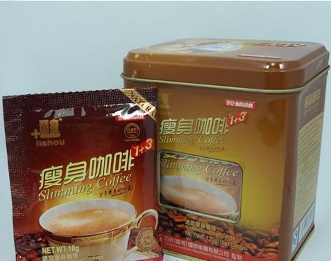 กาแฟลิโซ่ กล่องเหล็ก (Lishou slimming coffee) กาแฟควบคุมน้ำหนักของค่ายลิโซ่ เกรดพรีเมียม