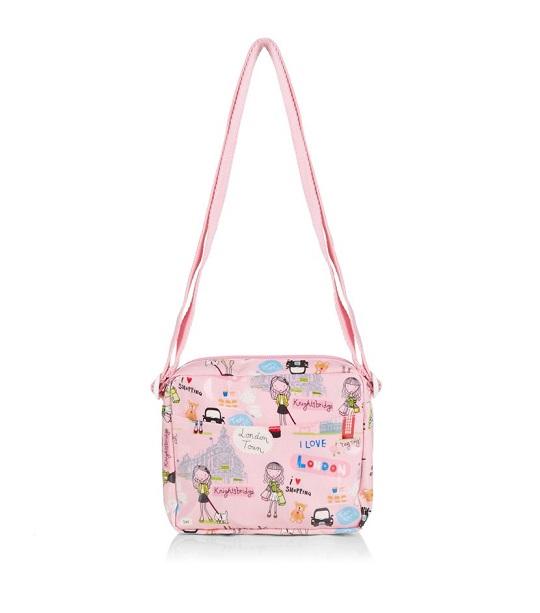 Harrods กระเป๋าสะพายข้าง รุ่น London Girl Small Across-the-body Bag  (พร้อมส่ง)