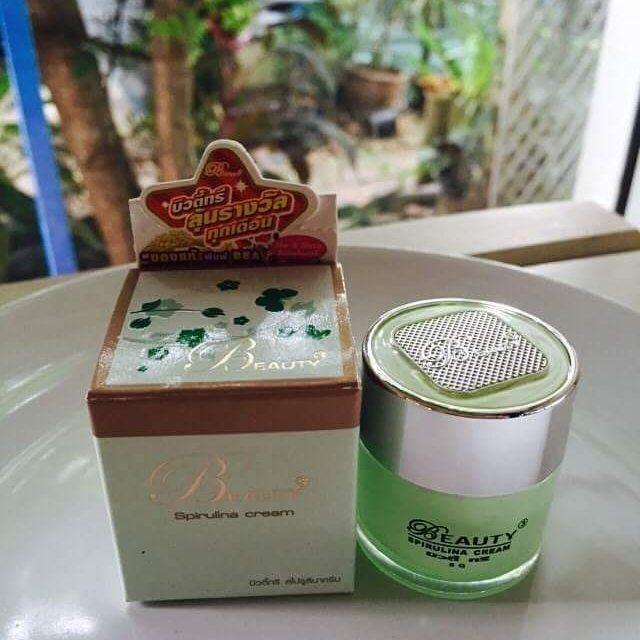 BEAUTY3 Spirulina cream ครีมบิวตี้ทรี สไปรูลิน่า ขนาดใหญ่ 15 กรัม