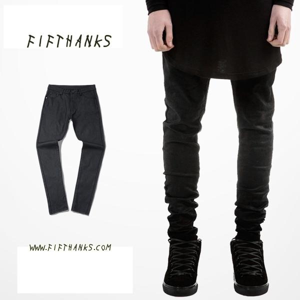 กางเกงยีนส์ ผู้ชาย แฟชั่น ยุโรป ขาเดฟ JEAN STREET BRAND TRENDY