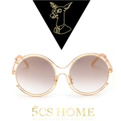 แว่นกันแดด ราคาถูก แว่นตากันแดด มี สีโกลเด้น สีเงินปรอทขาว สีRose Gole