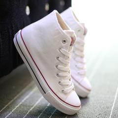 รองเท้าผู้หญิง ราคาถูก รองเท้าผ้าใบ น่ารัก มี สีขาว สีดำ สีแดง สีฟ้า มี เบอร์ 35-43