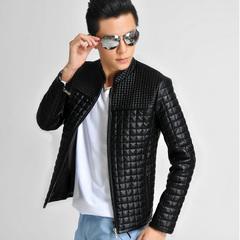 เสื้อผ้าผู้ชาย ผู้หญิง ราคาถูก เสื้อแจ็กเก็ตหนัง เท่ๆ  มี สีดำ สีน้ำตาล มี ไซร์ M L XL XXL 3XL 4XL 5XL