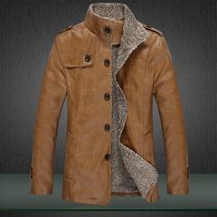เสื้อผ้าผู้ชาย ผู้หญิง ราคาถูก เสื้อแจ็กเก็ตหนัง เท่ๆ  มี สีกากี สีดำ สีน้ำตาล มี ไซร์ M L XL 2XL 3XL