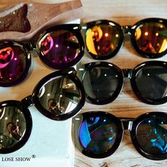 แว่นกันแดด ราคาถูก แว่นตากันแดด มี สีเงินน้ำ สีฮยอนม่วง สีน้ำเงิน สีแดงทอง สีดำเย็น