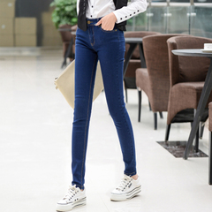 กางเกงผู้หญิง ผู้ชาย ราคาถูก กางเกงยีนส์ เท่ๆ มี สีดำ สีฟ้า มี ไซร์ 25-34