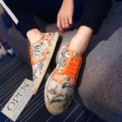 รองเท้าผู้ชาย ผู้หญิง ราคาถูก รองเท้าแฟชั่น รองเท้าผ้าใบ มี สีส้ม สีดำ สีม่วง มี ไซร์ 37-44