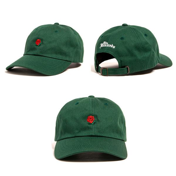 หมวกฮิปฮอป ราคาถูก หมวกเบสบอล THE HUNDREDS มี สีตามรูป (ปรับได้)