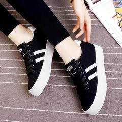 รองเท้าผู้หญิง ราคาถูก รองเท้าผ้าใบ น่ารัก มี สีขาว สีเทา สีดำ มี เบอร์ 35-40