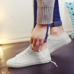รองเท้าผู้หญิง ราคาถูก รองเท้าผ้าใบ น่ารัก มี สีขาว สีดำ มี เบอร์ 35-40