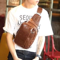 กระเป๋าผู้ชาย ราคาถูก กระเป๋าสะพายอก ไหล่ ถือ มี สีดำ สีน้ำตาล