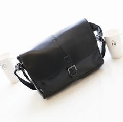 กระเป๋าผู้ชาย ราคาถูก กระเป๋าสะพายข้าง ถือ มี สีดำ สีกาแฟเข้ม สีกาแฟอ่อน