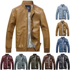 เสื้อผ้าผู้ชาย ผู้หญิง ราคาถูก เสื้อแจ็คเก็ตหนัง มี สีดำ สีเบอร์ดีกัน สีกากี สีน้ำเงิน สีน้ำตาล สีฟ้า มีั ไซร์ M L XL XXL XXXL