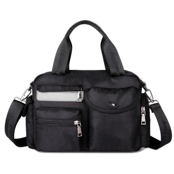 กระเป๋าผู้หญิง ราคาถูก กระเป๋าสะพายข้าง ถือ มี สีม่วง สีน้ำเงิน สีดำ