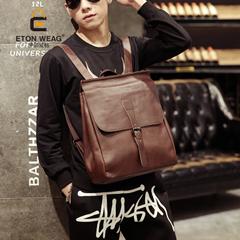กระเป๋าผู้ชาย ราคาถูก กระเป๋าสะพายหลัง เป้ เท่ๆ มี สีดำ สีน้ำตาล