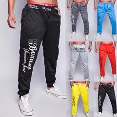 เสื้อผ้าผู้ชาย ราคาถูก กางเกงลำลอง กางเกงแฟชั่น เท่ๆ มี สีทะเลสาบฟ้า สีดำ สีแดง สีเหลือง สีเทาอ่อน สีหมอก มี ไซร์ 28-35