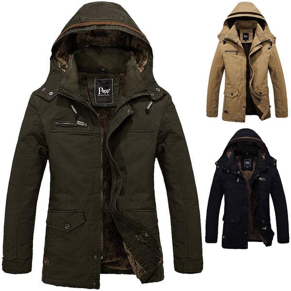 เสื้อโค๊ทกันหนาวผู้ชาย เสื้อกันหนาวชาย เสื้อแจ็คเก็จชาย