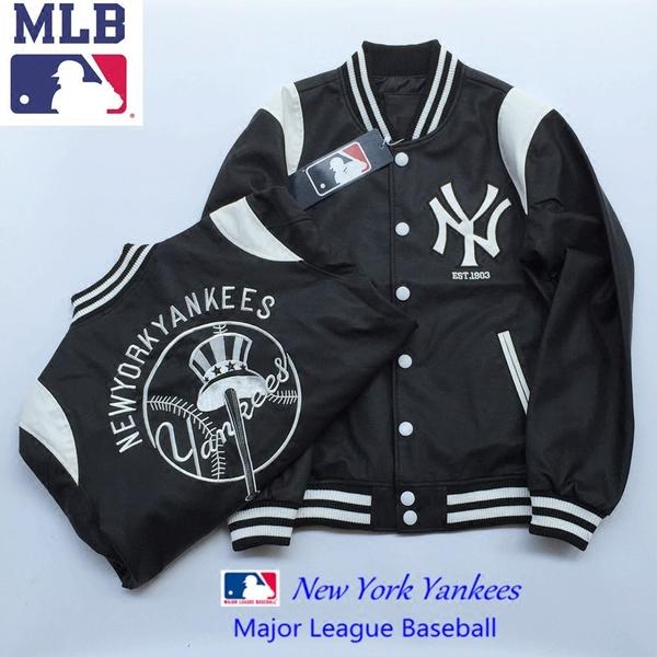 เสื้อแจ็คเก็ต เบสบอล NY BASEBALL AUTHENTIC MLB