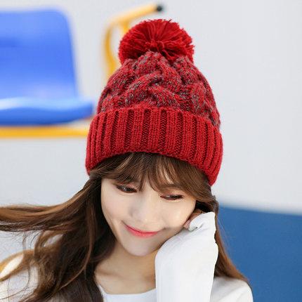 หมวกไหมพรมกันหนาว หมวกแฟชั่นกันหนาว