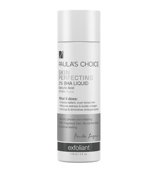 **พร้อมส่ง**Paula's Choice Skin Perfecting 2% BHA Liquid Exfoliant 118ml. บีเอชเอ 2% สูตรน้ำเนื้อบางเบา ซึมซาบเร็วไม่เหนียวเหนอะหนะ เพื่อคืนความนุ่ม กระชับ ย้อนเวลาให้ผิวอ่อนเยาว์ ช่วยผลัดเซลล์ผิวเก่า กระชับรูขุมขน ลดเลือนจุดด่างดำ สีผิวที่ไม่สม่ำเสม
