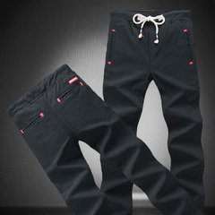 เสื้อผ้าผู้ชาย ราคาถูก กางเกงลำลอง กางเกงแฟชั่น เท่ๆ มี สีดำ สีกองทัพเรือ ไซร์ 28-34